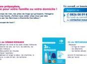 Carrefour lance dans services personne