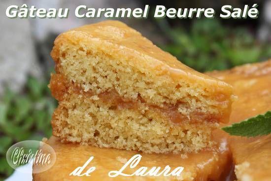 G teau caramel beurre sal de laura d couvrir - Gateau chocolat beurre sale ...