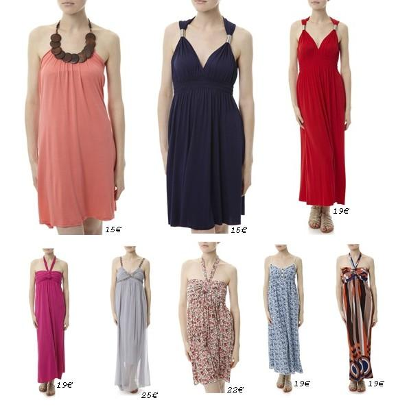 De jolies robes d'été à petit prix !