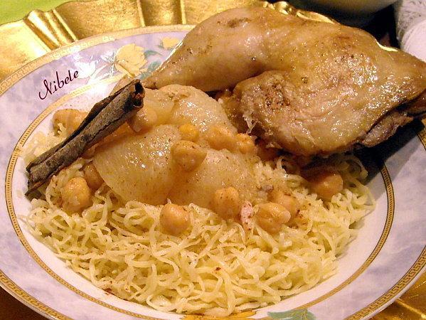 Rechta ou nouilles maison algerienne paperblog - Recette de cuisine algerienne traditionnelle ...