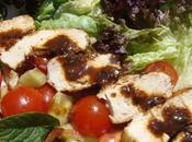 Salade estivale poulet mariné