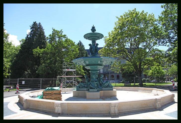 La fontaine du jardin anglais est de retour paperblog for Voyage jardins anglais