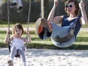 Milla Jovovich fille Ever Garbo, sable