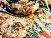 Gratin blettes quinoa gorgonzola