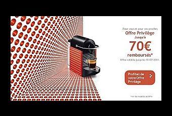 bon de r duction nespresso 50 ou 70 euros paperblog. Black Bedroom Furniture Sets. Home Design Ideas