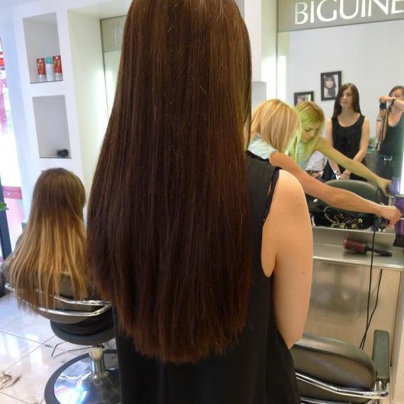 Celle qui avait tent les extensions de cheveux paperblog for Extension cheveux salon