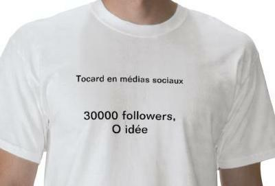 Tu n'es pas un expert en médias sociaux, juste un tocard avec des followers