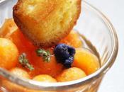 Soupe melon thym lavande, demande secours pâtissier!