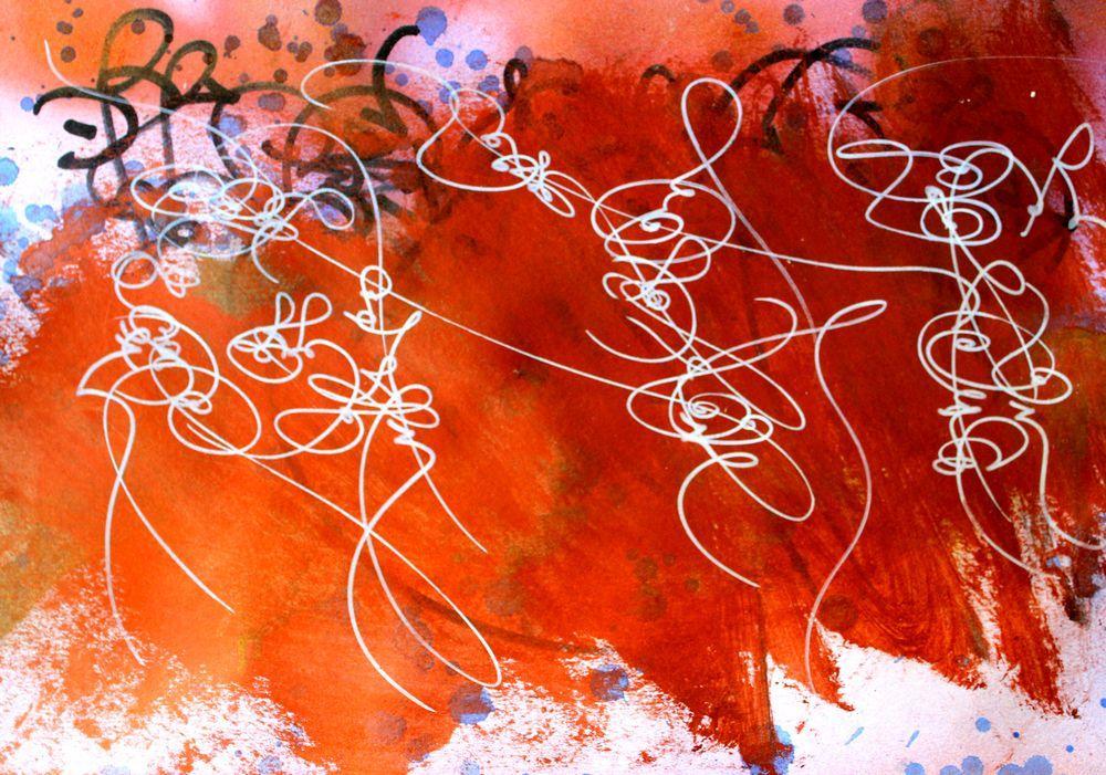 Abstraction lyrique et graffiti palimpseste paperblog for Abstraction lyrique