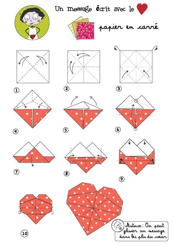 Origami Le Pliage En Papier Origami Facile Pour Enfant Origami