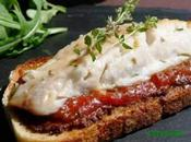 Crostinis rougets tapenade