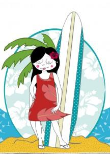 Coloriage hawaienne paperblog - Coloriage tahiti ...