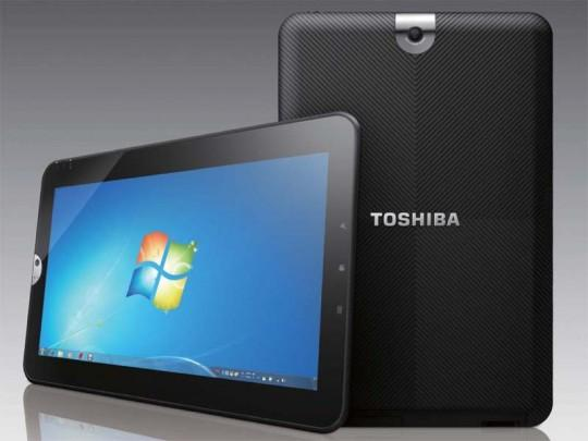 C 540x405 Une tablette sous Windows 7 chez Toshiba