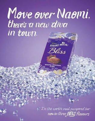 Naomi Campbell comparée à du chocolat, malgré elle