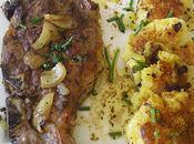 échine porc marinée,palets pommes terre épices