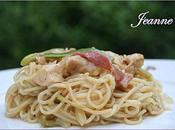 Chow mein poulet