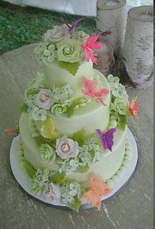 Deco de mariage theme papillons paperblog - Decoration gateau papillon ...
