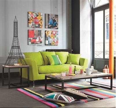 le style pop art pour une d co haute en couleurs voir. Black Bedroom Furniture Sets. Home Design Ideas