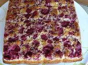 gâteau yaourt framboises