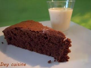 Gâteau au chocolat, simple mais efficace!