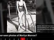 photos inédites Marilyn Monroe trouvées brocante Usa??