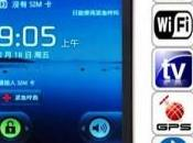 Smart Phone Quadri-Bandes Androide V2.2 Wifi Dual Cameras