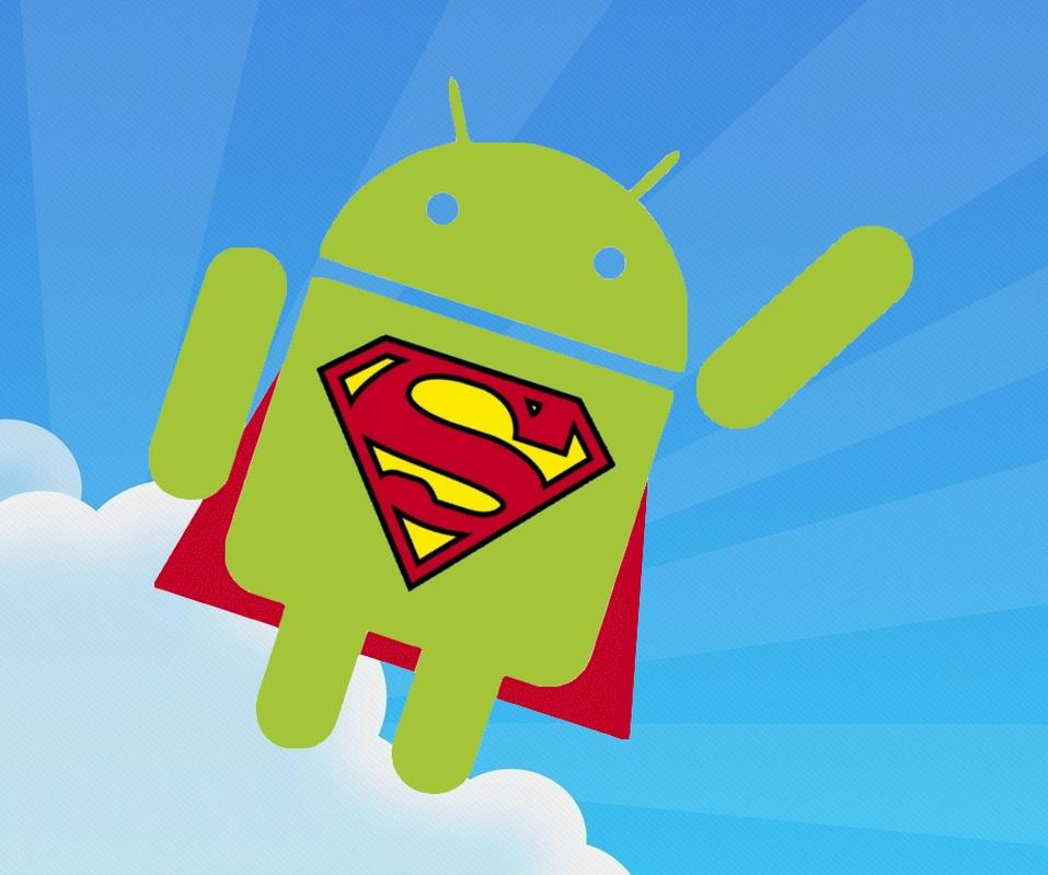 [960x800 Wallpapers] Android Superman