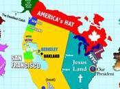 carte monde selon Royaume-Uni Francisco