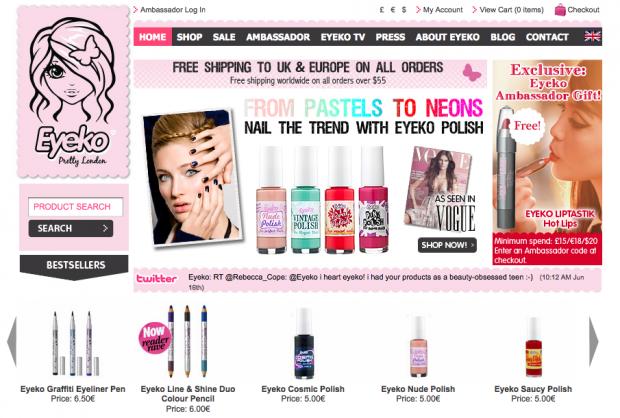 site de maquillage