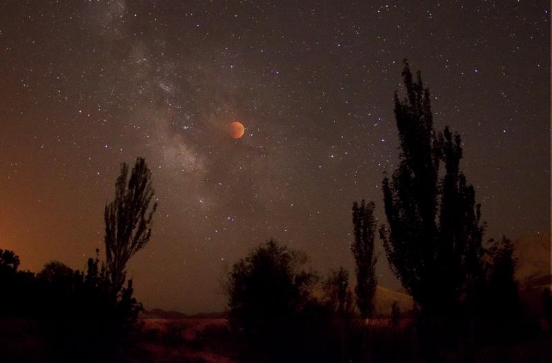 Eclipse de la Lune par Amirreza Kamkar