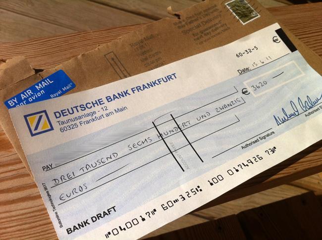 bank cheque b for bank cheque de banque. Black Bedroom Furniture Sets. Home Design Ideas