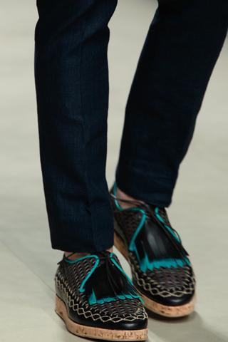 Chaussures Burberry 10 tendances à retenir des défilés de Milan   Eté 2012