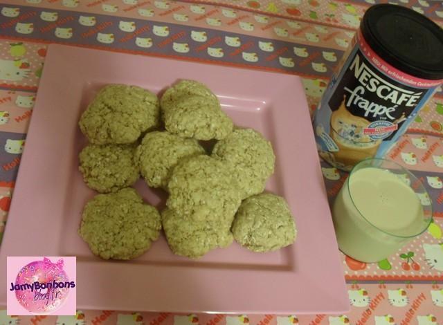 Recette : Cookies moelleux au café ( ice cofee )