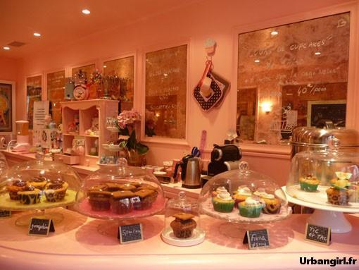La cupcakerie parisienne de Chloé S.