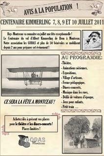 Centenaire du  1er vol orienté de Kimmerling