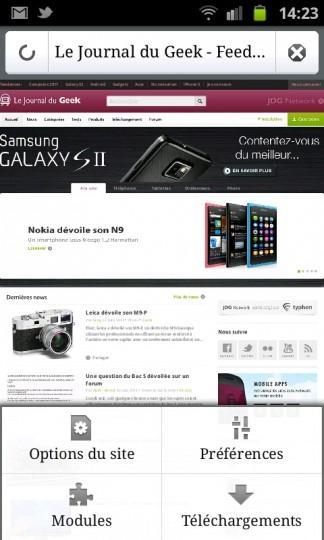 SC20110622 142334 324x540 Firefox 5 aussi disponible pour Android