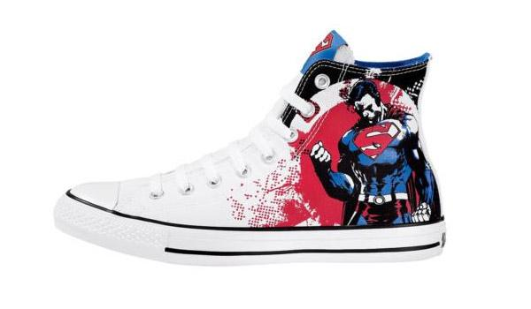 converses Encore quelques Converse All Star DC Comics !