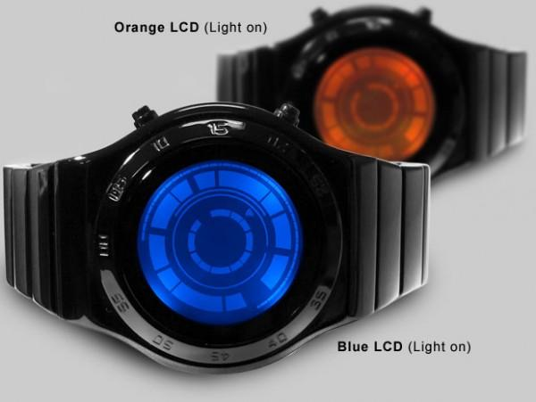rogue led on watch 600x451 Montre Kisai Rogue SR2 LED