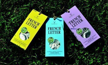 French Letter : le préservatif British « vert » pour draguer utile…
