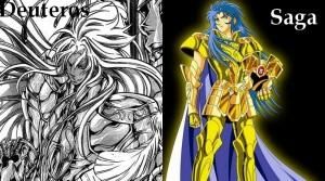 Chevaliers d'or: Saint Seiya vs Lost Canvas