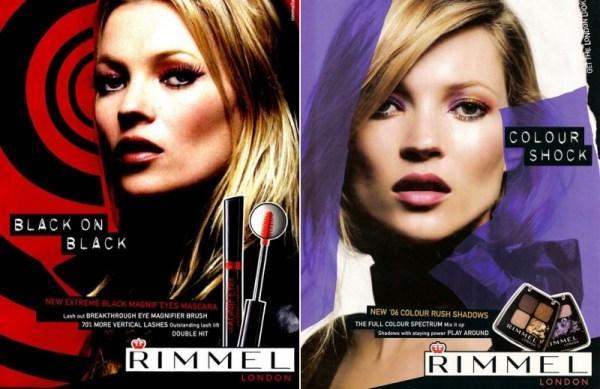 Kate Moss signe sa première collection de maquillage pour RIMMEL LONDON