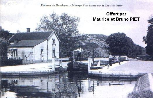 Le canal de Berry - Allier