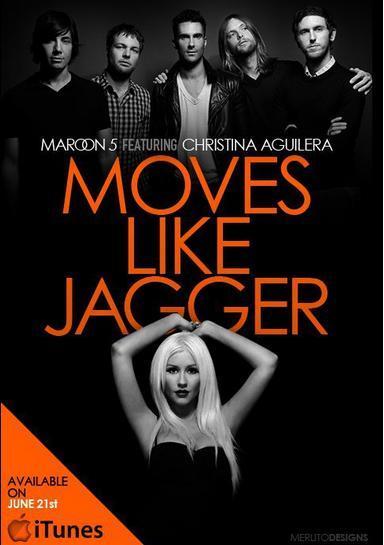 Maroon 5 & Christina Aguilera – Move Like Jagger.