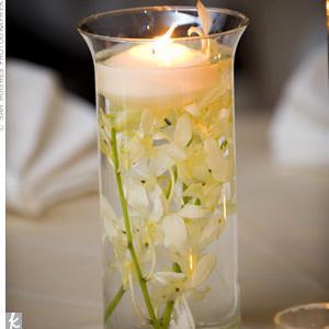 Decoration de mariage theme orchidée