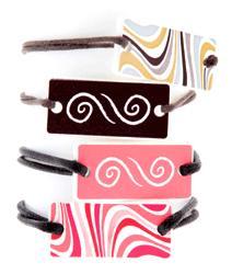 diffuseur organique Bijou - Bracelet rectangle