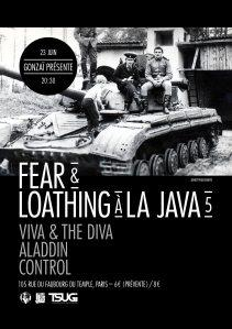 Viva and the Diva en concert à la Java : BE THERE !