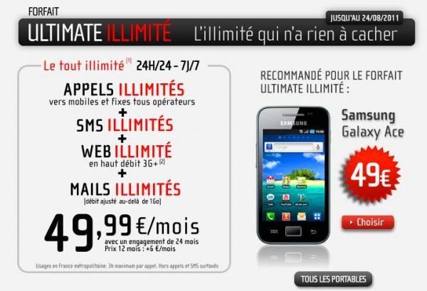 nrjmobile 600x409 Le forfait Ultimate illimité de NRJ Mobile disponible