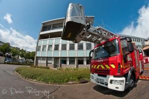 Journée nationale des sapeurs-pompiers en Normandie