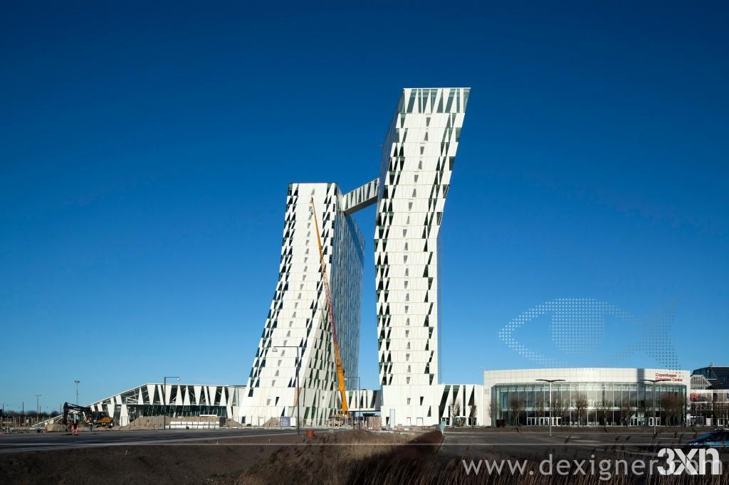 Bella Sky, le plus grand hôtel de Scandinavie.