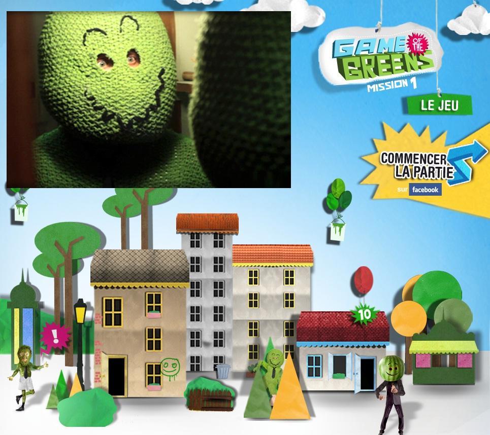 Good as... Game Greens, le jeu de Cetelem